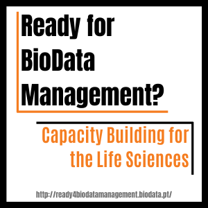 Ready for BioData Management - Capacity building for the life sciences